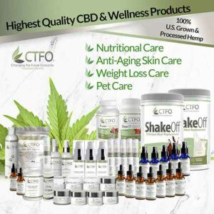 CTFO CBD oils and other products