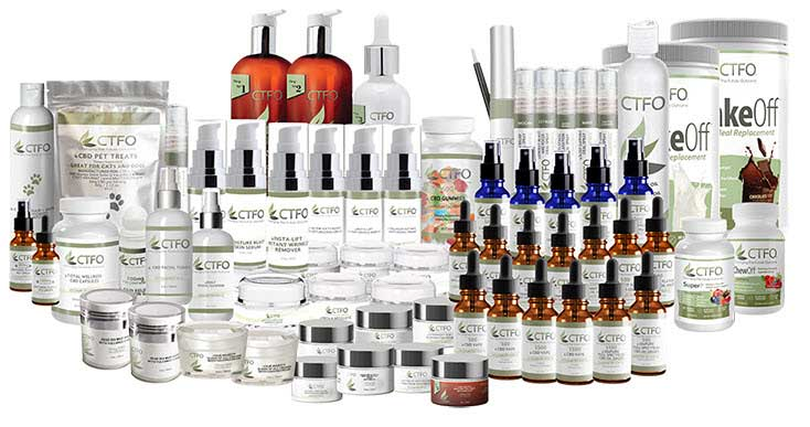 CTFO Variety: Over 80 products