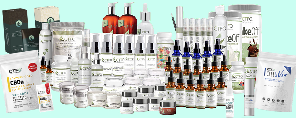 Over 80 CBD and non-CBD Products