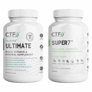 CTFO 10xPure Multivitamins and Super7