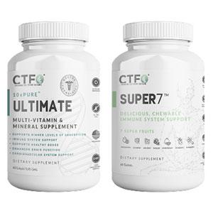 CTFO 10xPure Multivitamins and Super7